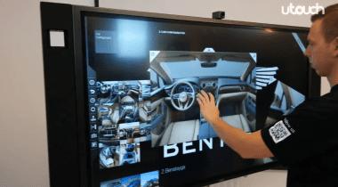U-Touch 65'' 4K PLine Touch Monitor