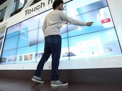 Multitouch LCD Wall