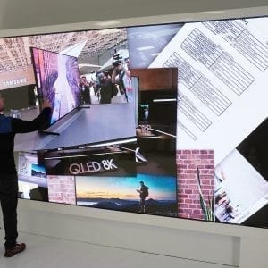 LED Touch Wall
