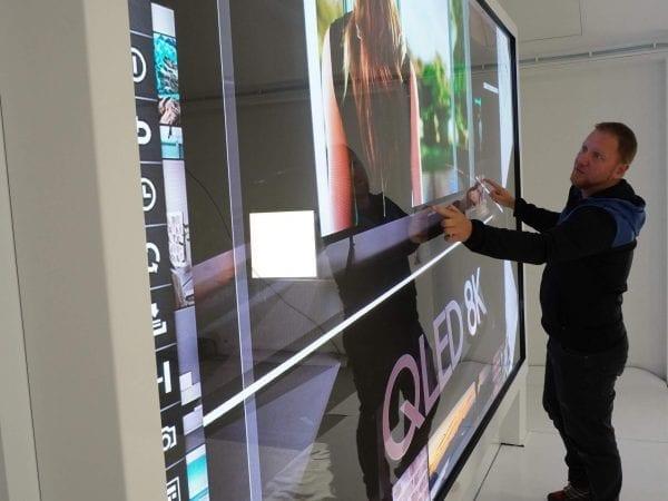 LED Interactive Wall