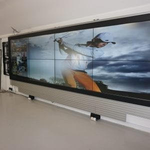 LCD Touch Wall