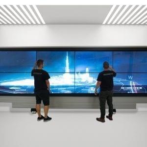 LCD Interactive Wall