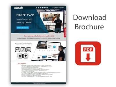 U-Touch 75″ Samsung PCAP