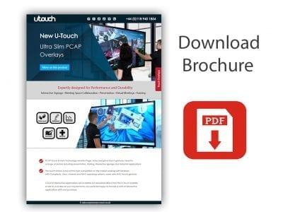 U-Touch Ultra Slim PCAP Overlays