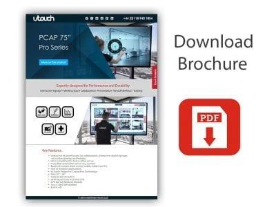 "U-Touch PCAP 75"" Pro Series"