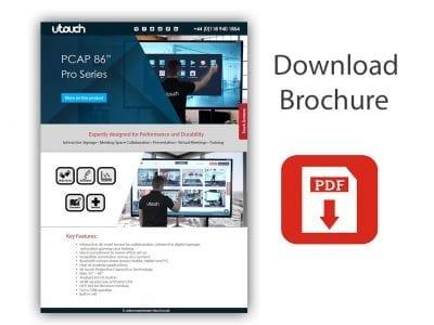 "U-Touch PCAP 86"" Pro Series"