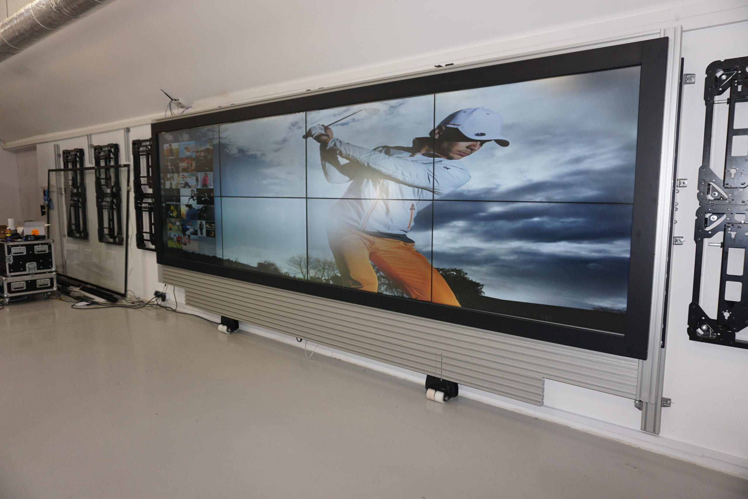 touch wall display